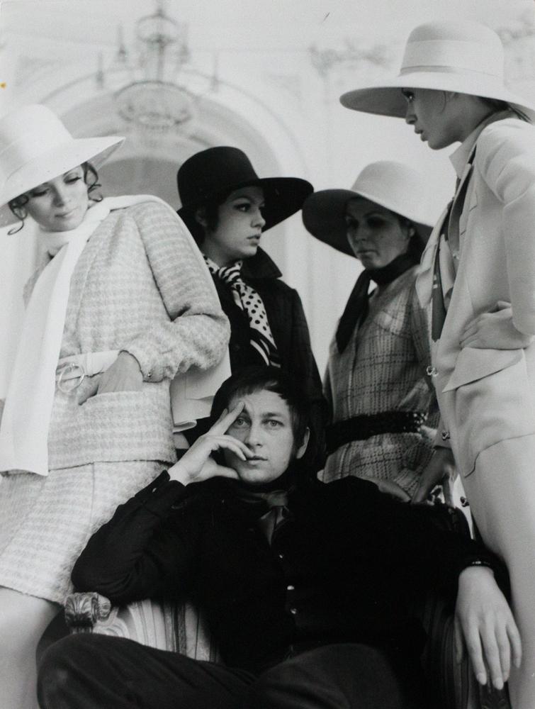 Jerzy Antkowiak, projektant mody, lata 60-te.
