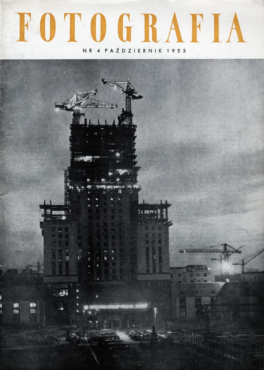 """""""Fotografia"""", 1953, nr4"""