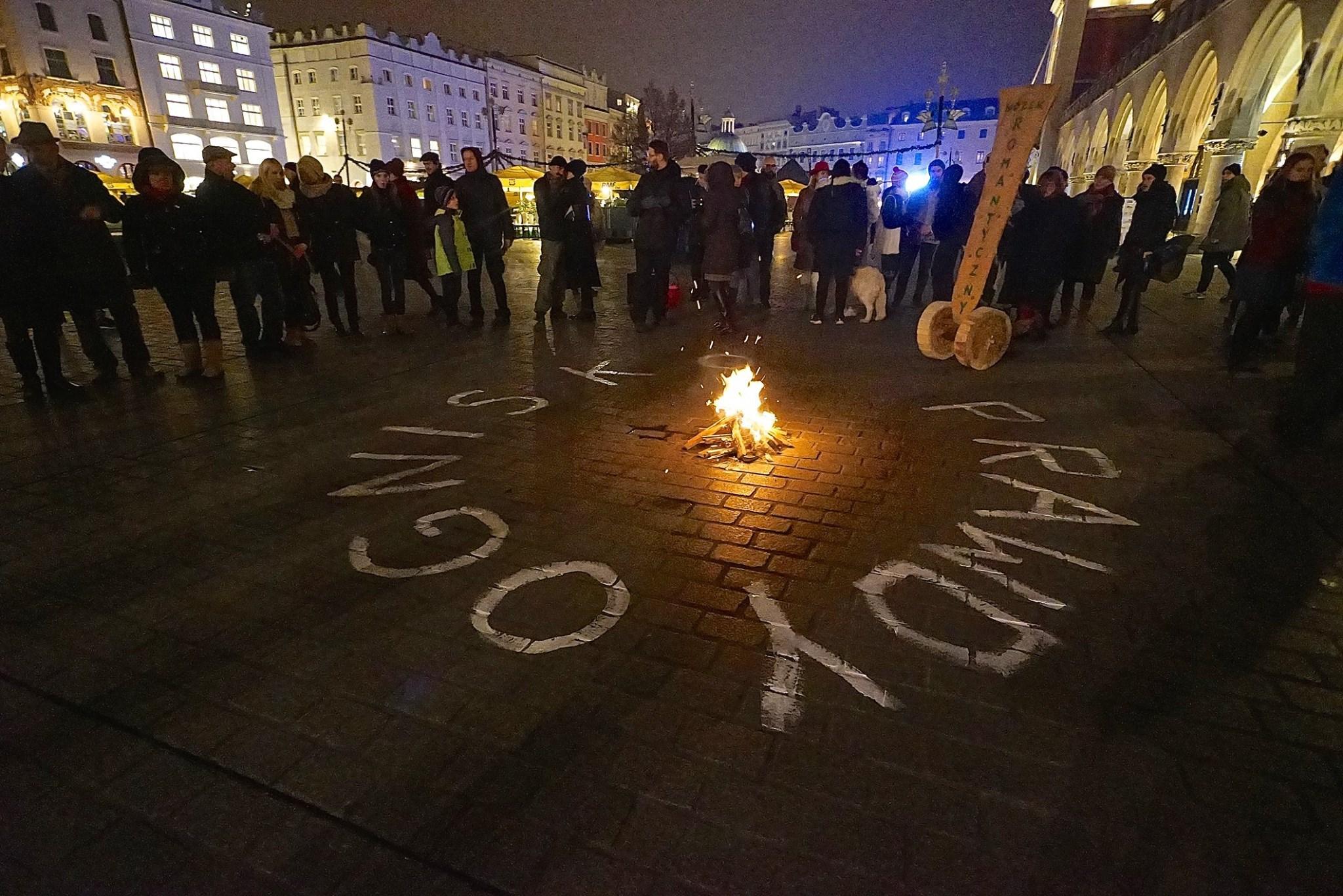 Manifestacje Romantyczne, Kraków, 22.11.2014