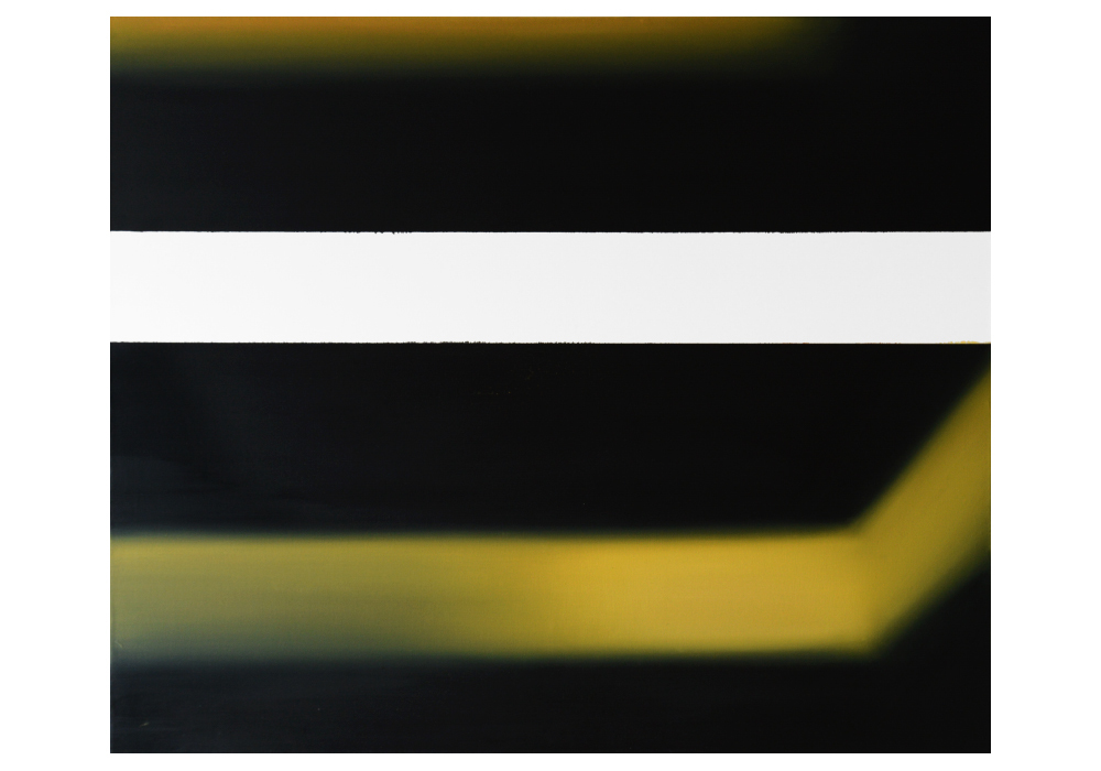 Mateusz Piestrak, beztytułu, olej napłórnie, 100x120 cm, 2014