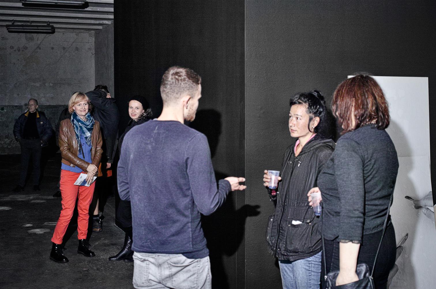 Hito Steyerl, Abstrakt, otwarcie wystawy