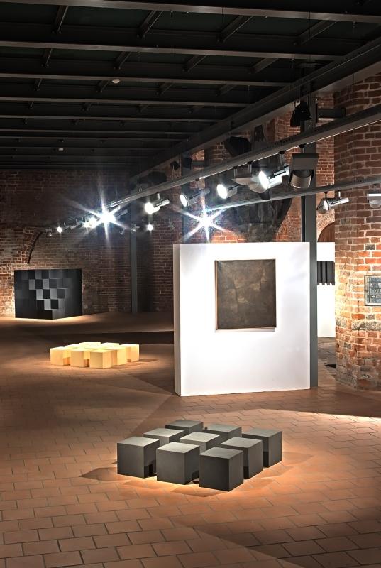 Gerard Kwiatkowski - Retrospektywa, widok wystawy, galeria El