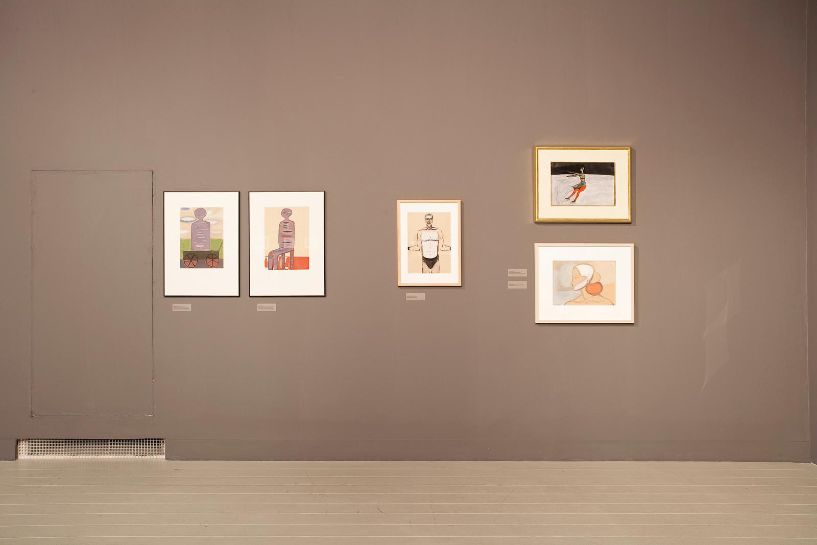DE. FI. CIEN. CY  –  Andrzej Wróblewski, René Daniëls, Luc Tuymans - wystawa wgalerii Art Stations, fot.Bartek Buśko