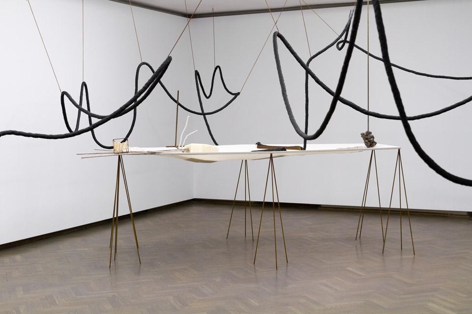 Iza Tarasewicz, Przezoczywistą niemożliwość aranżacji znaków, widok wystawy