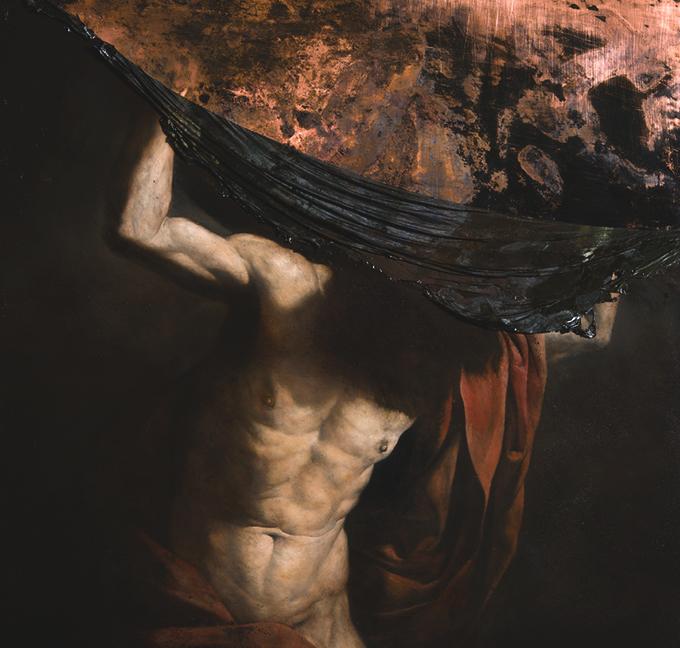 """Nicola Samori, """"Il Male della Pietra"""", 2014, onyks, stal"""
