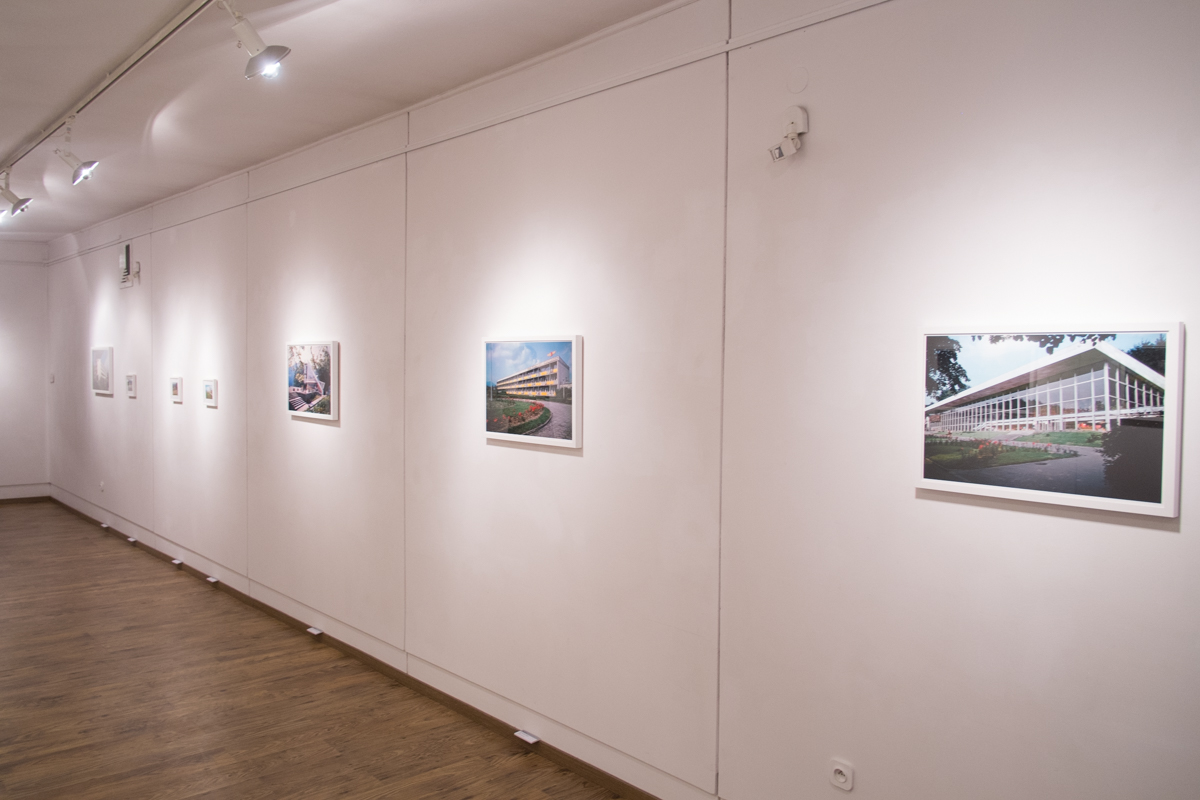"""Wystawa fotografii Zbigniewa Łagockiego """"Pozdrowienia zMuszyny!"""", Galeria Stara wŁodzi, 13.12.2014–17.01.2015"""