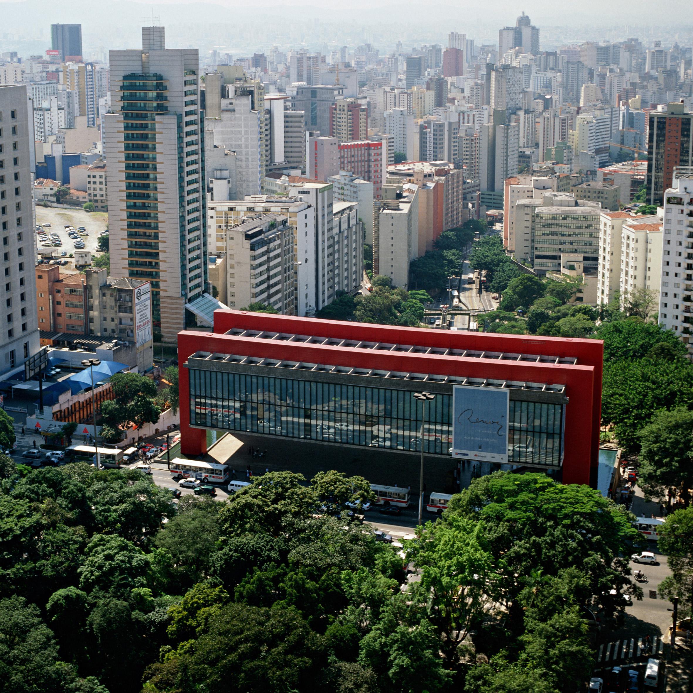 MASP – Museu de Arte de São Paulo, São Paulo, 1957-1968, fot.Nelson Kon, 2002
