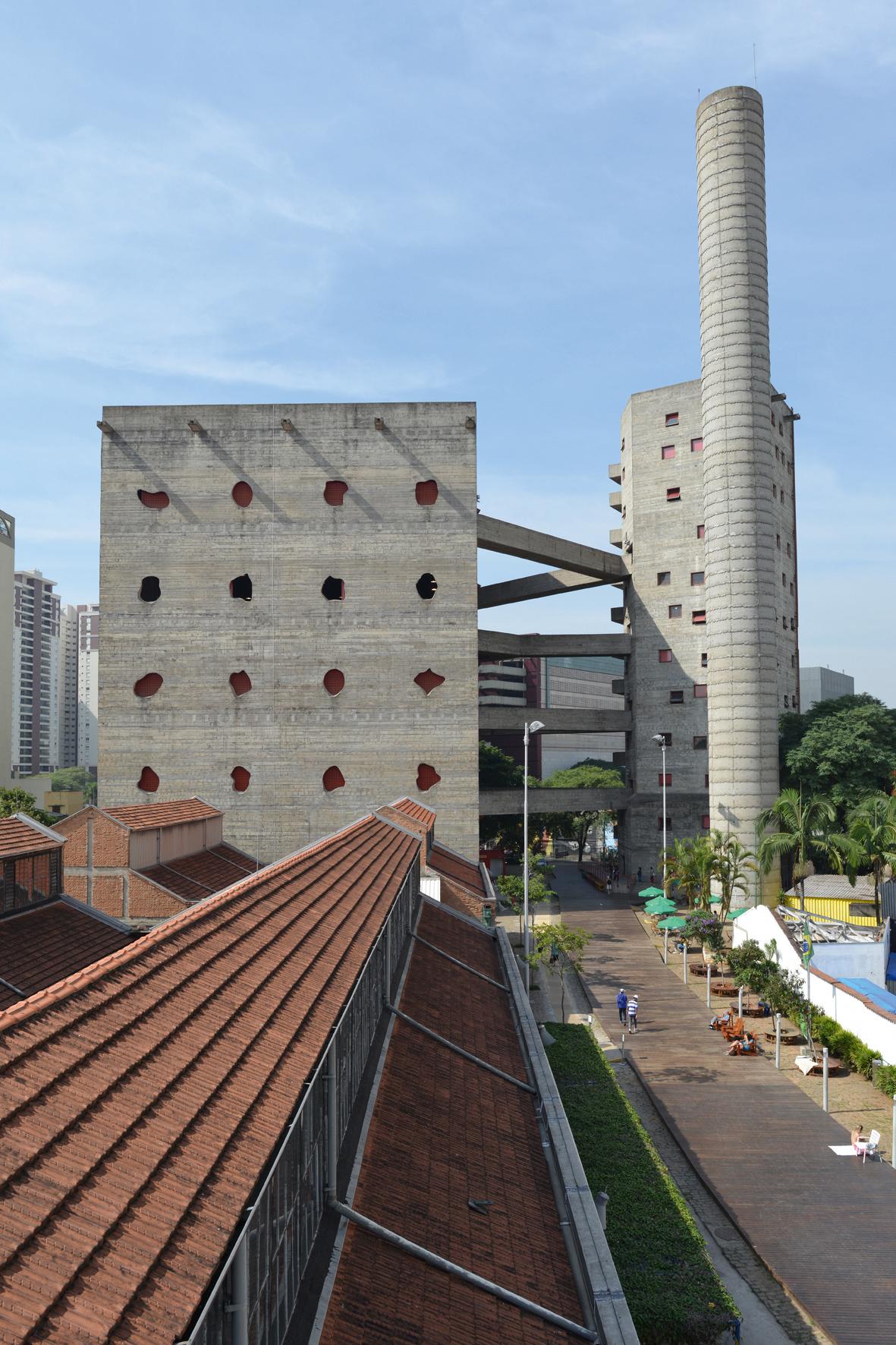 SESC – Fabrica da Pompeia, São Paulo, 1977-1986, fot.Markus Lanz, 2014