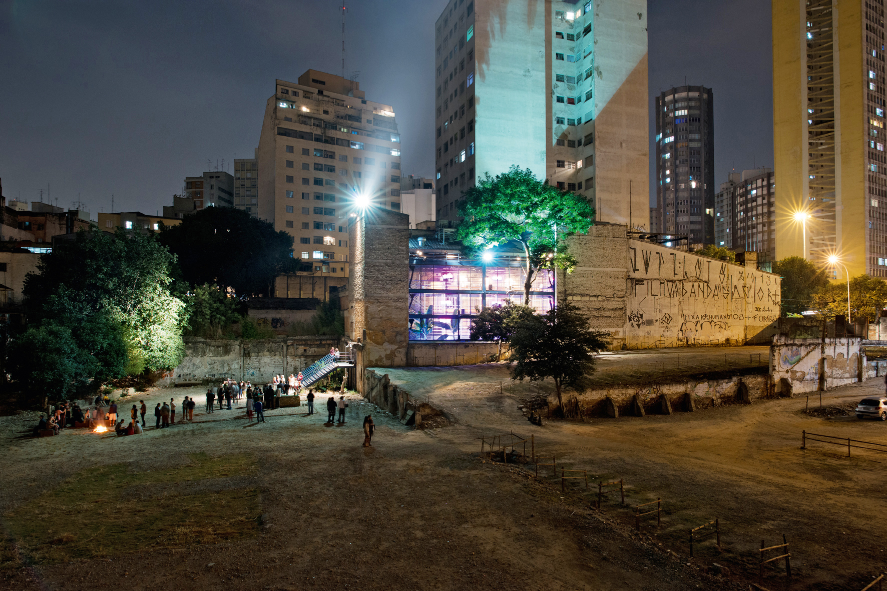 Teatro Oficina, São Paulo, Widok zzachodu, 1984-1989, fot.Markus Lanz, 2014