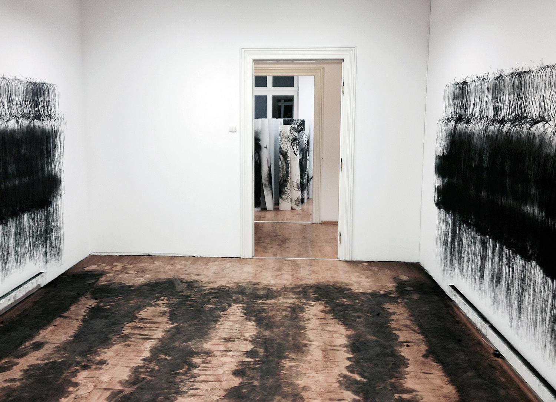 Przestrzenie, widok wystawy