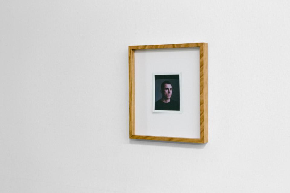 Mateusz Choróbski, Portret, polaroid, 10,7 x 8,5 cm, 2015