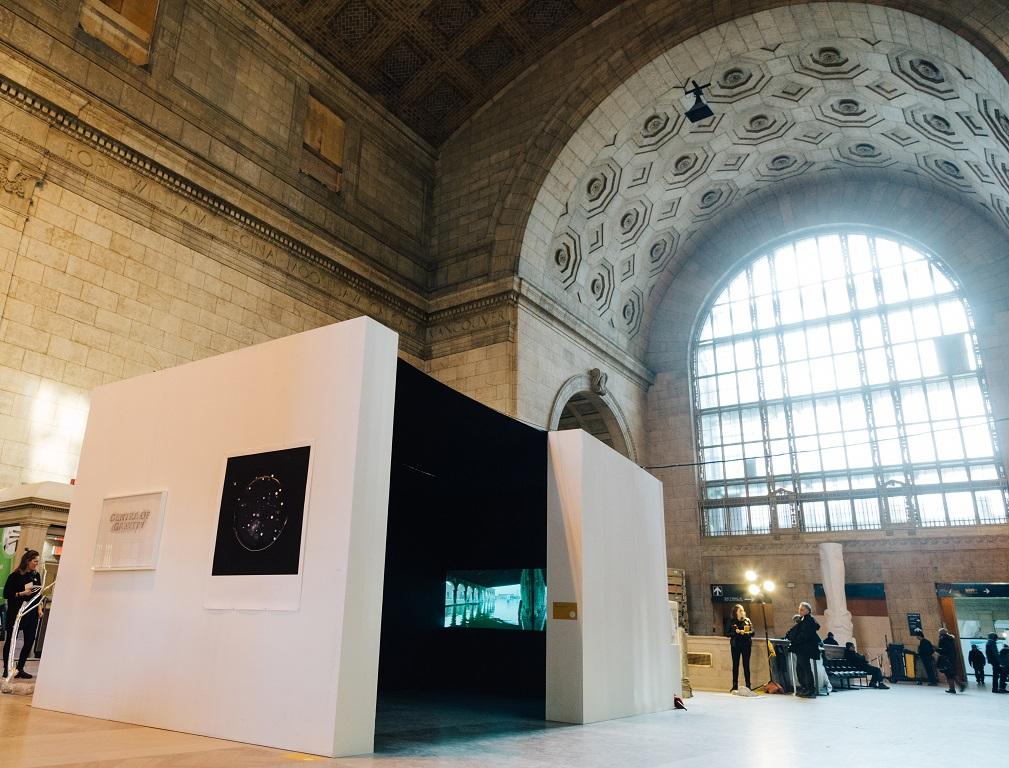 Villa Toronto installation view - Dane Mitchel, RaebervonStenglin, Zurich and Ragnar Kjartansson, i8 Gallery, Reykjavik