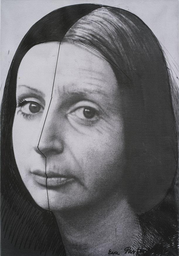 Ewa Partum, Zmiana, fotografia, 1979