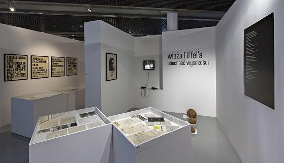 Nic niezatrzyma idei sztuki, widok wystawy