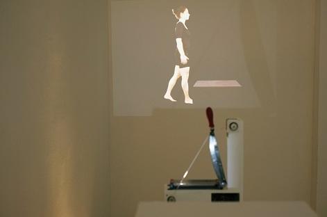 Patricia J. Reis_Cutting the body Cinematographic Cliché #2  Cięcie ciała stereotyp kinematograficzny #2