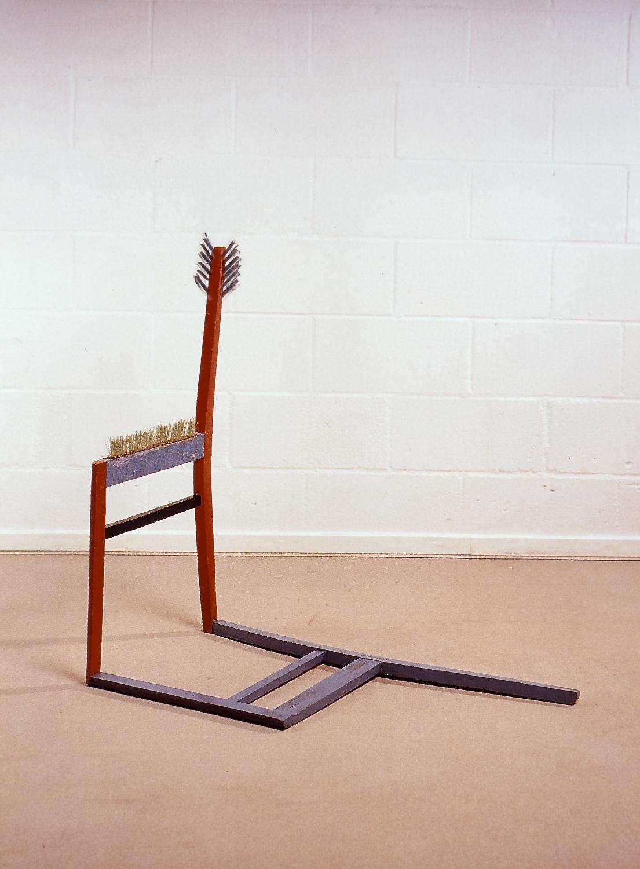 Mariusz Kruk, beztytułu, krzesło, 1984,