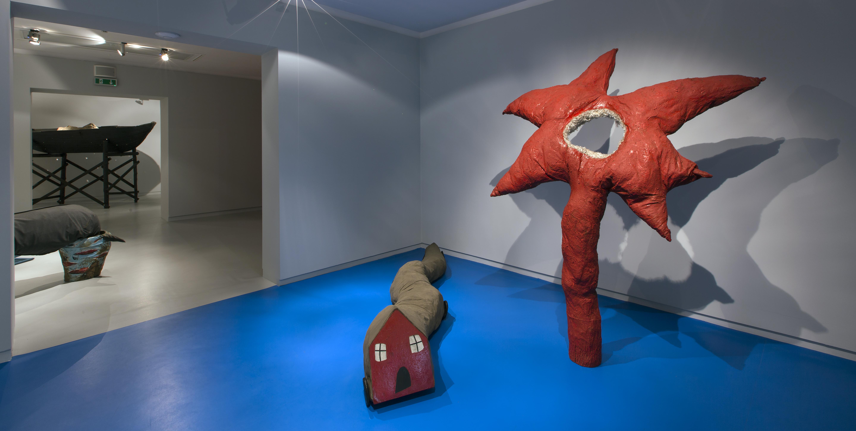Witalny realizm grupy Koło Klipsa, widok wystawy