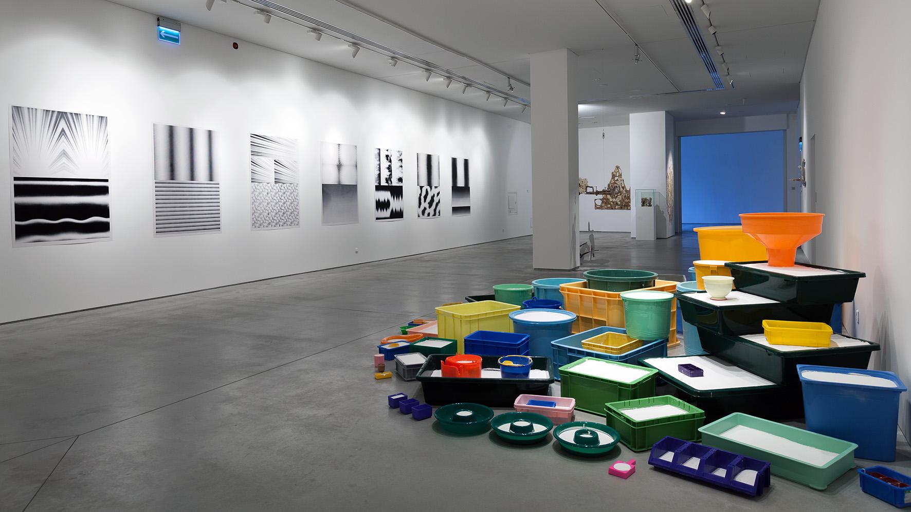 Teppei Kaneuji, Duch wburzy #3 , 2014, instalacja