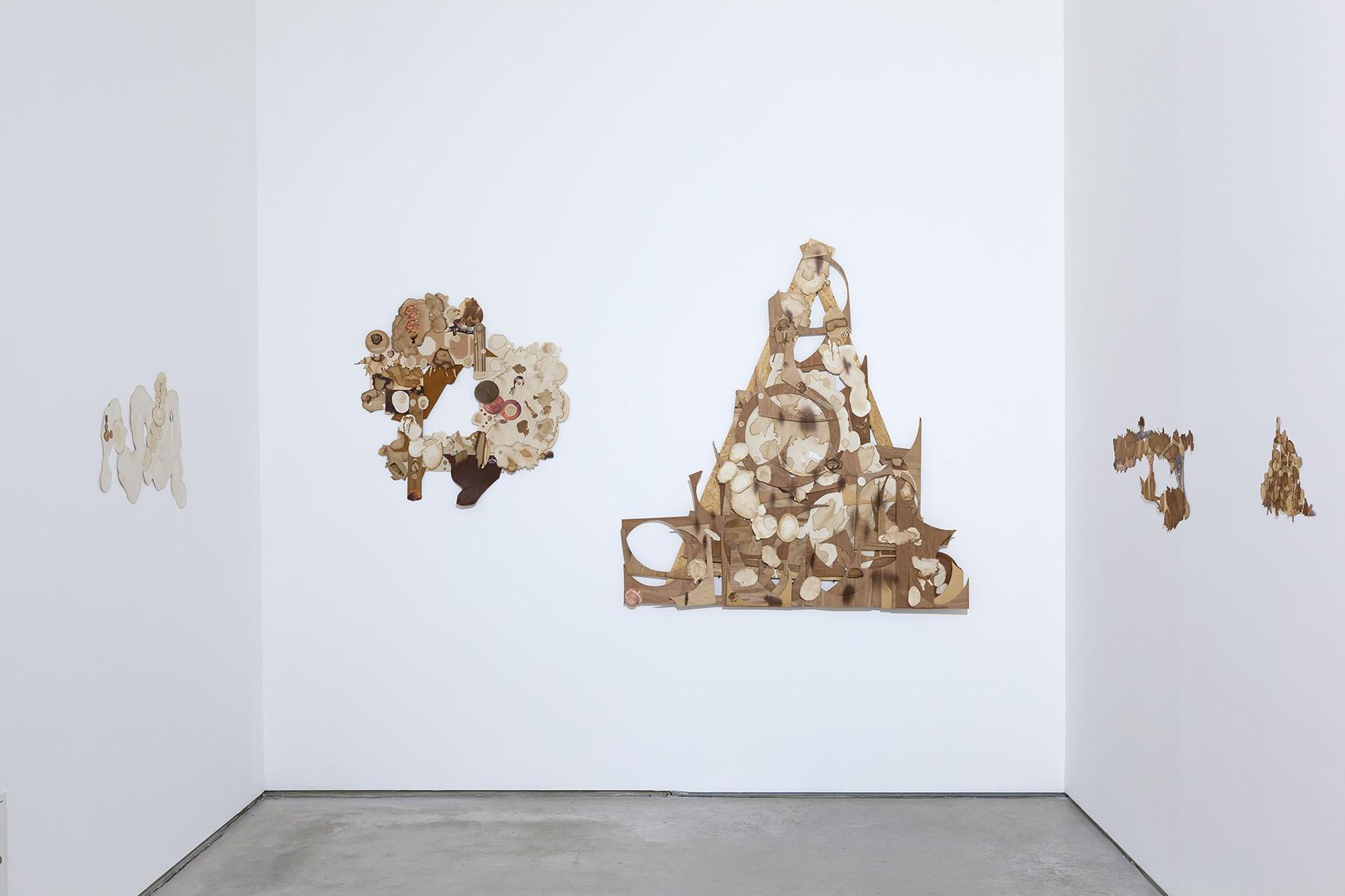 Teppei Kaneuji, Błotnisty strumień zkubka, 2014, 8 kolaży