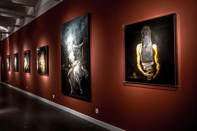Religo, Nicola Samori, widok wystawy