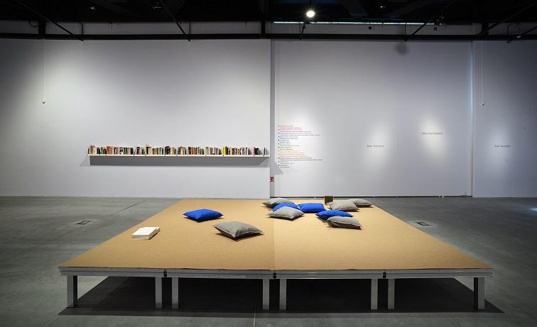 Czytać jak książkę/Reads Like aBook, widok wystawy