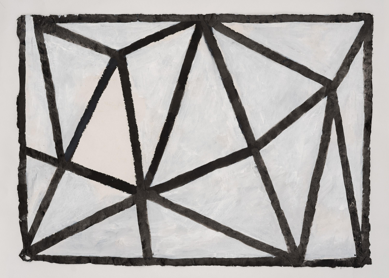 Koji Kamoji, Rysunek 34, 2013 tusz chiński, papier, akryl, 62x87cm