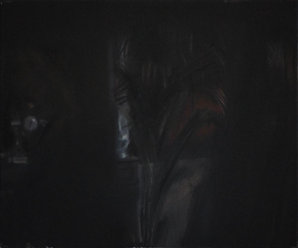 Łukasz Stokłosa, Nosferatu Phantom der Nacht, 2014, olej napłótnie, 50x60