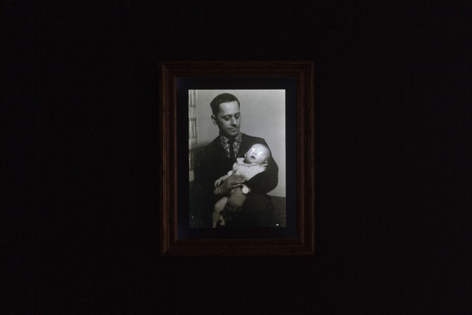 Konrad Kuzyszyn, Tata ija, fotografia archiwalna, lightbox 1961/2011