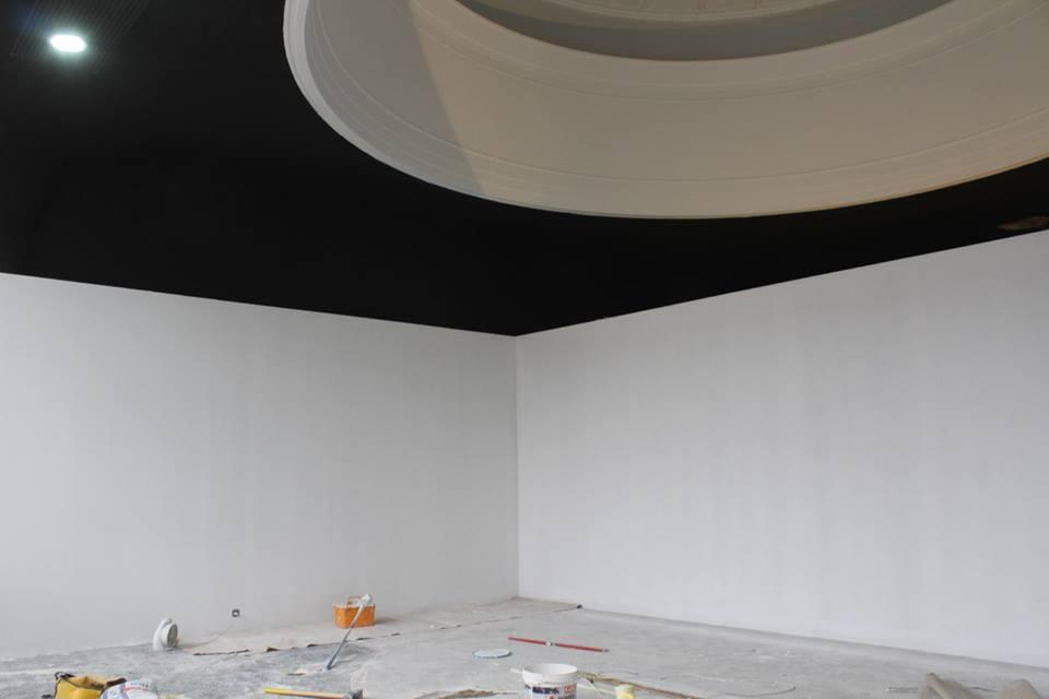 Nowa przestrzeń galerii Stereo, jeszcze podczas remontu