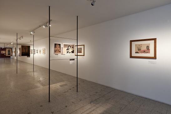 Andrzej Wróblewski, Recto Verso. 1948-1949, 1956–1957, widok wystawy