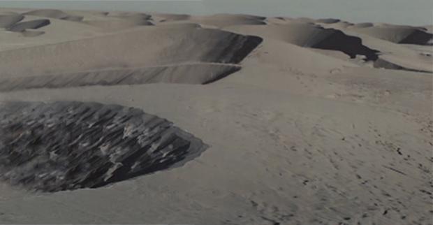 C.T. Jasper, Zmierzch faraonów, 2014, kadr wideo