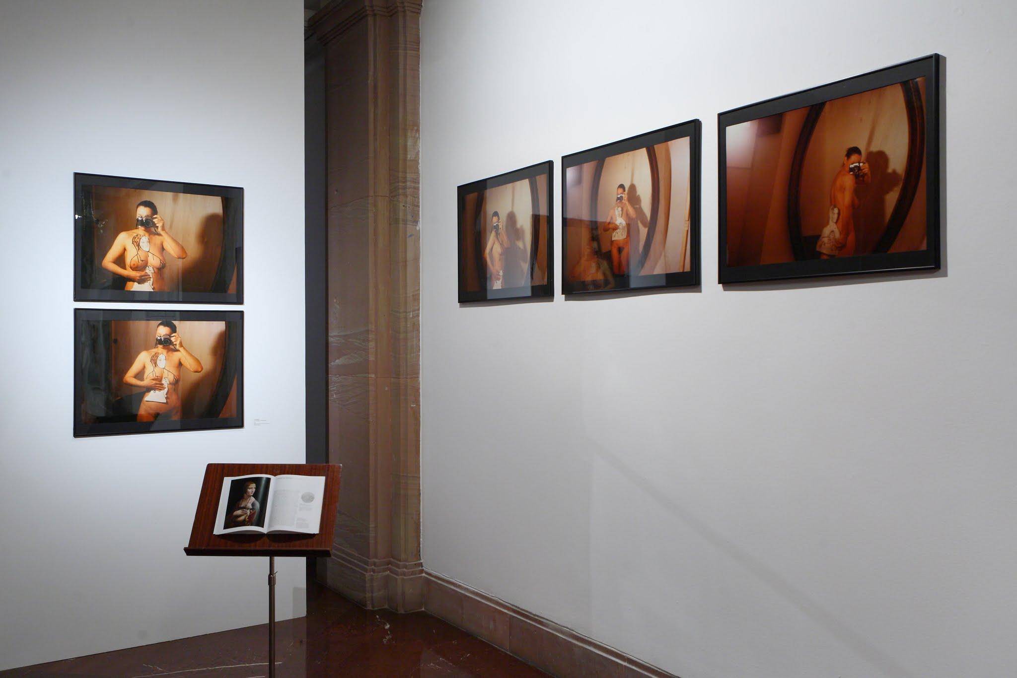 Gry zaparatem / czas przeszły dokonany, Galeria Fotografii pf, Poznań,  widok wystawy