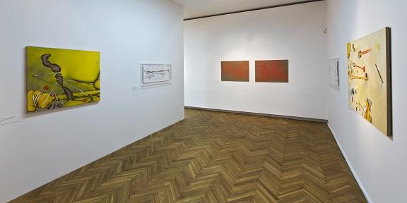 Andrzej Czarnacki, Skłonność uparta, widok wystawy