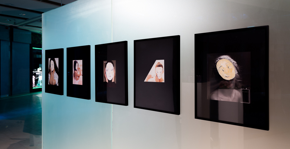 FOLD, widok wystawy