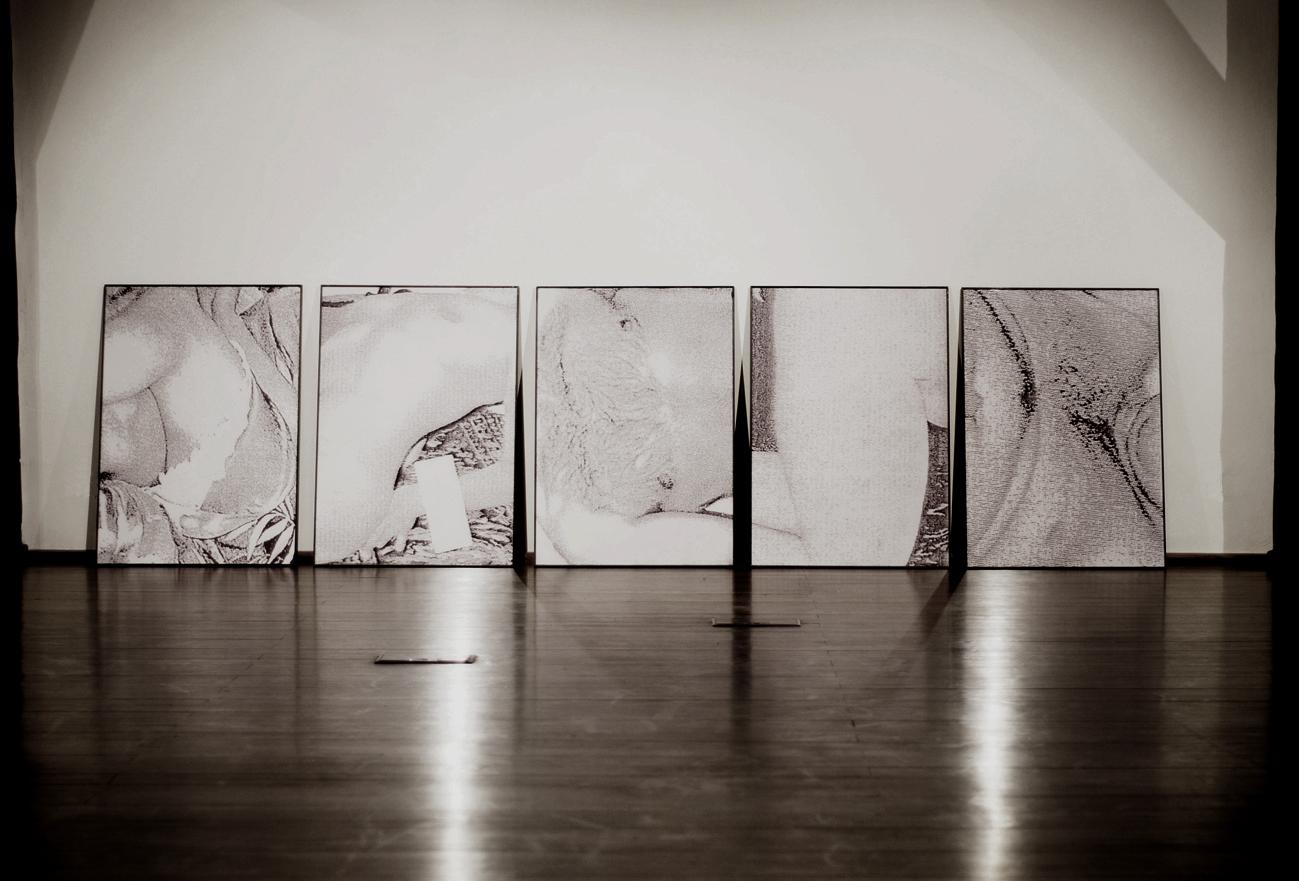 Agnieszka Grodzińska, Hard Light in the Light Heat, widok wystawy