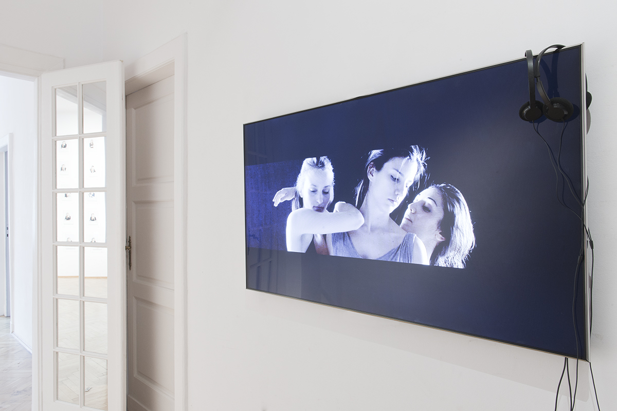 Grzegorz Stefański, New face, widok wystawy