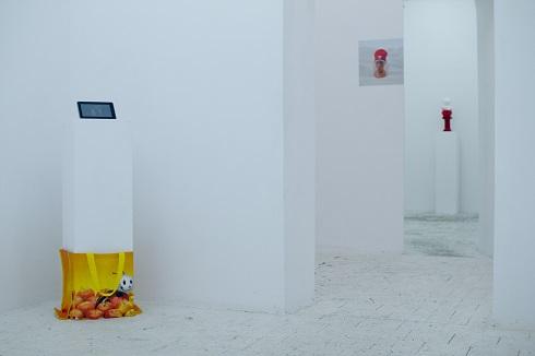 Post-branding, widok wystawy