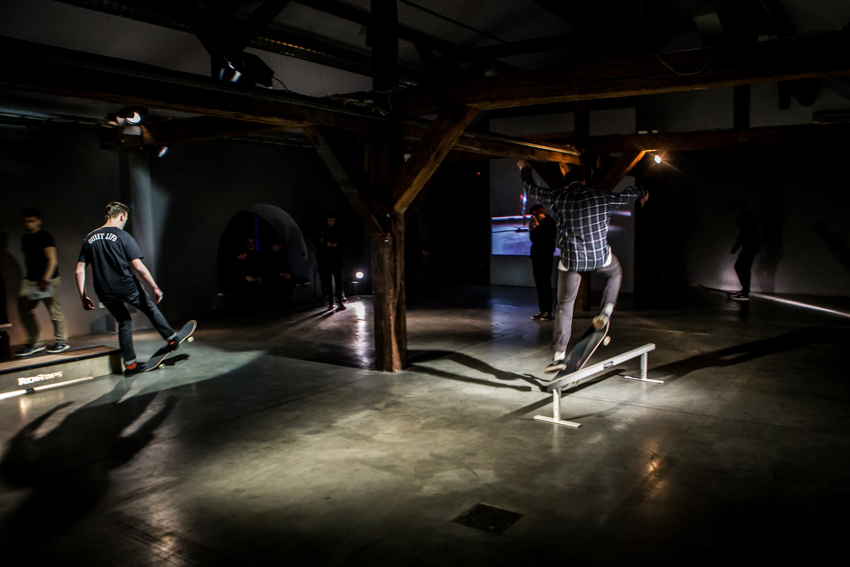 SKATE CONCRETE, wystawa Test Exposure wCentrum Sztuki WRO