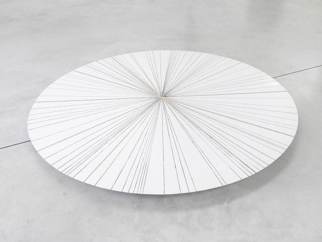 Michał Budny, Primitive (White), 2015, MDF, wood, paint,