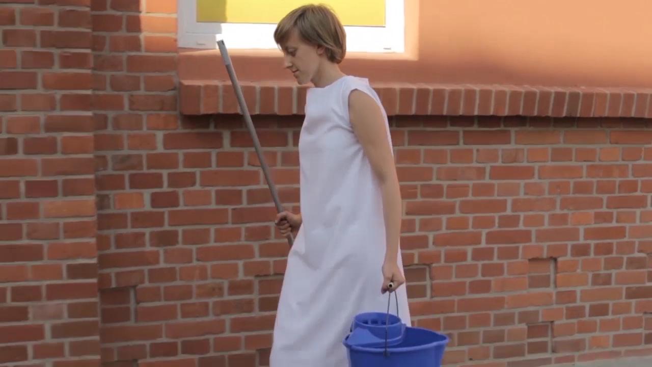 Justyna Orłowska, Oczyszczenie, kadr zfilmu