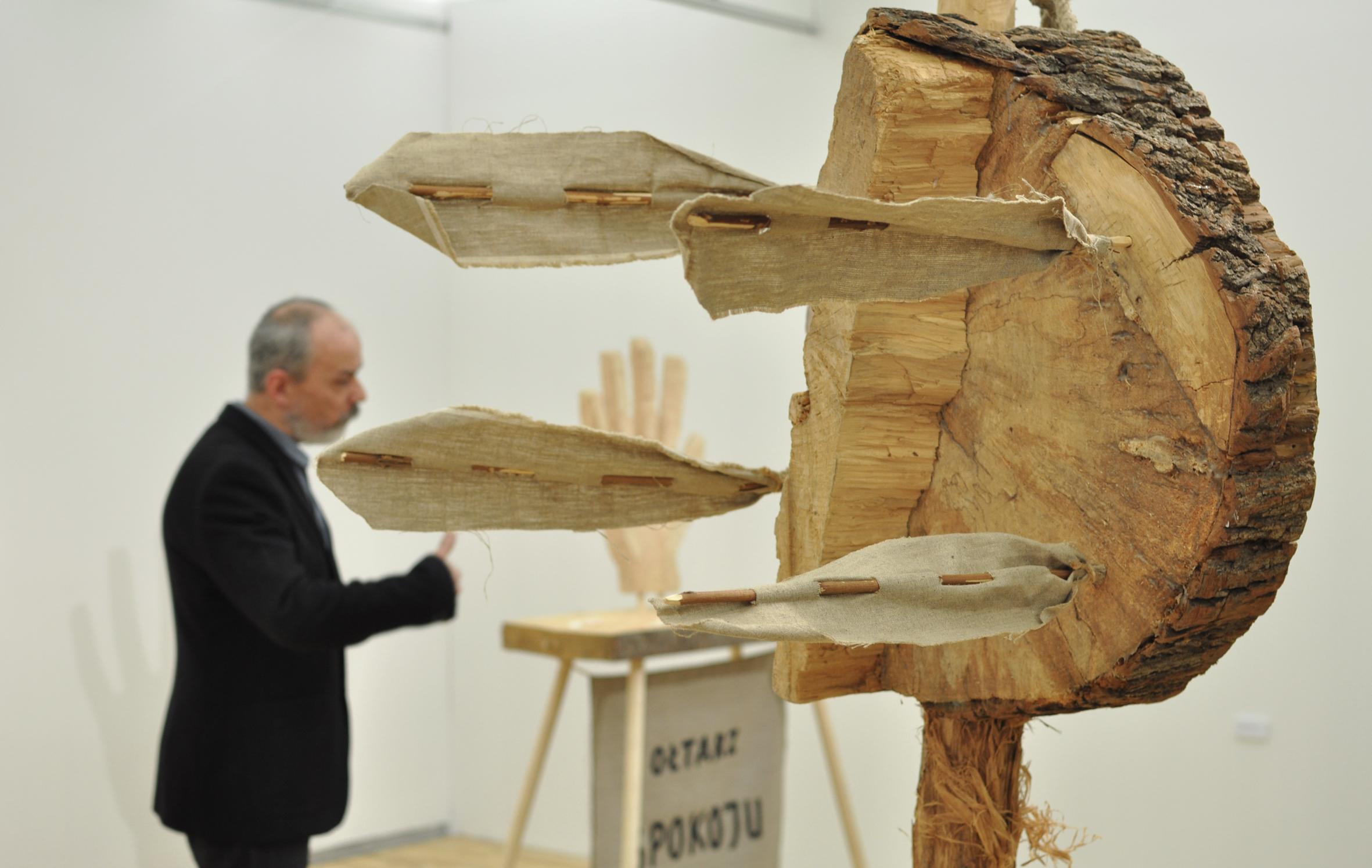 Jerzy Bereś, Ja proponuję osąd, osąd tego, co Państwo wtejchwili widzą, widok wystawy