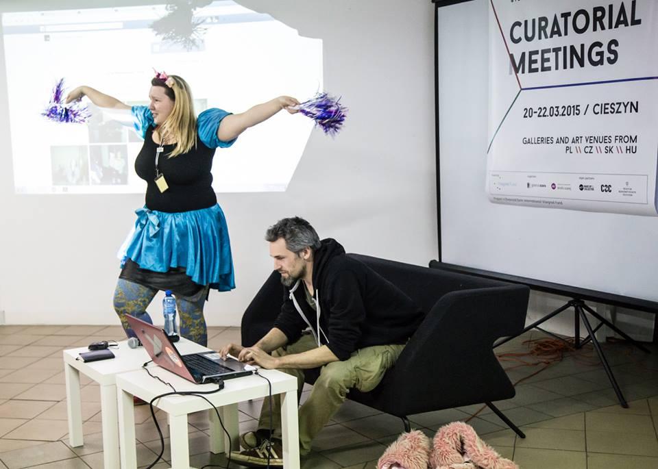 Kača Olivová iLibor Novotný, Curatorial Meetings / Spotkania kuratorskie / Cieszyn 2015