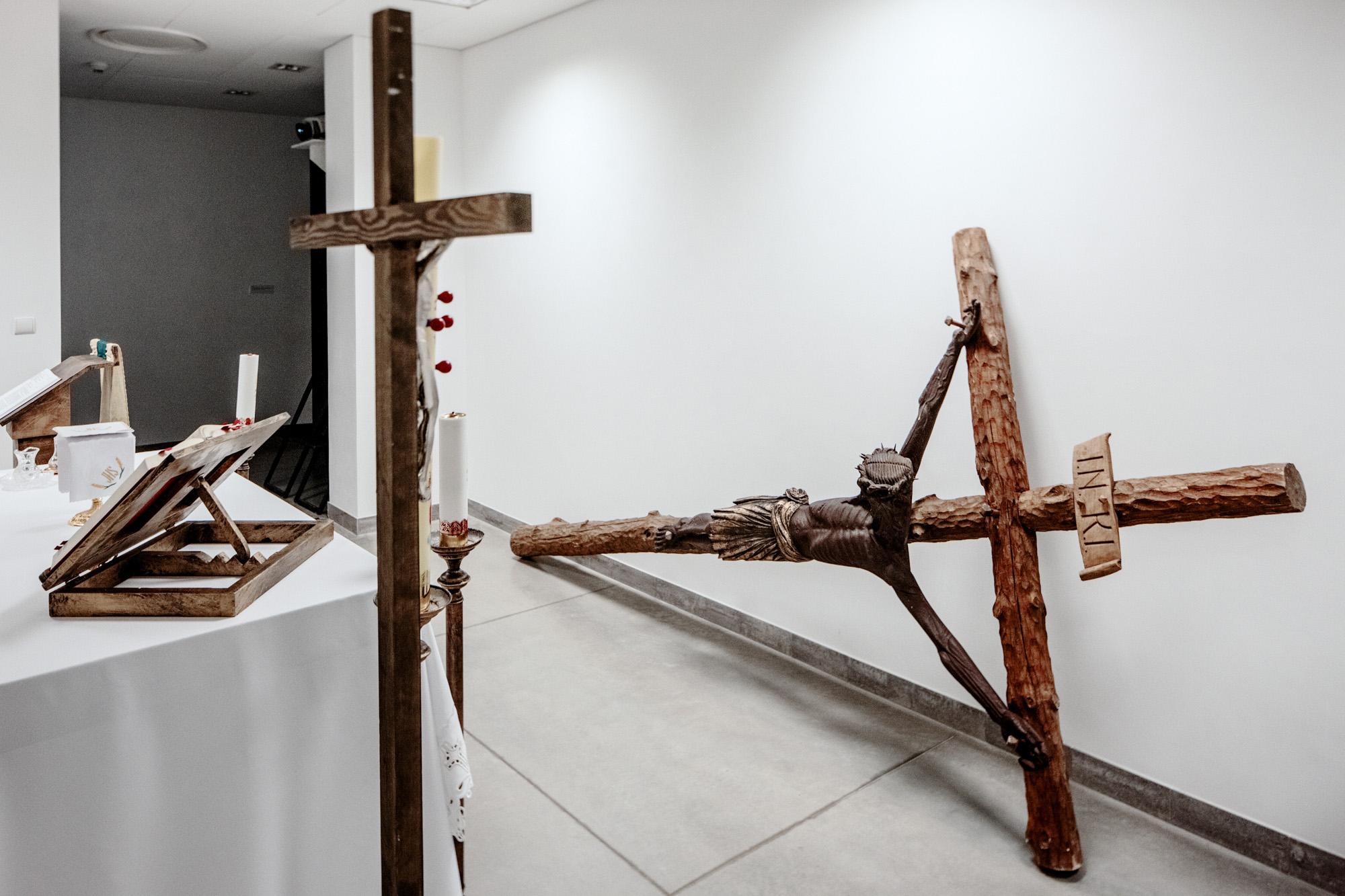 Artur Żmijewski, Prace warsztatowe, widok wystawy