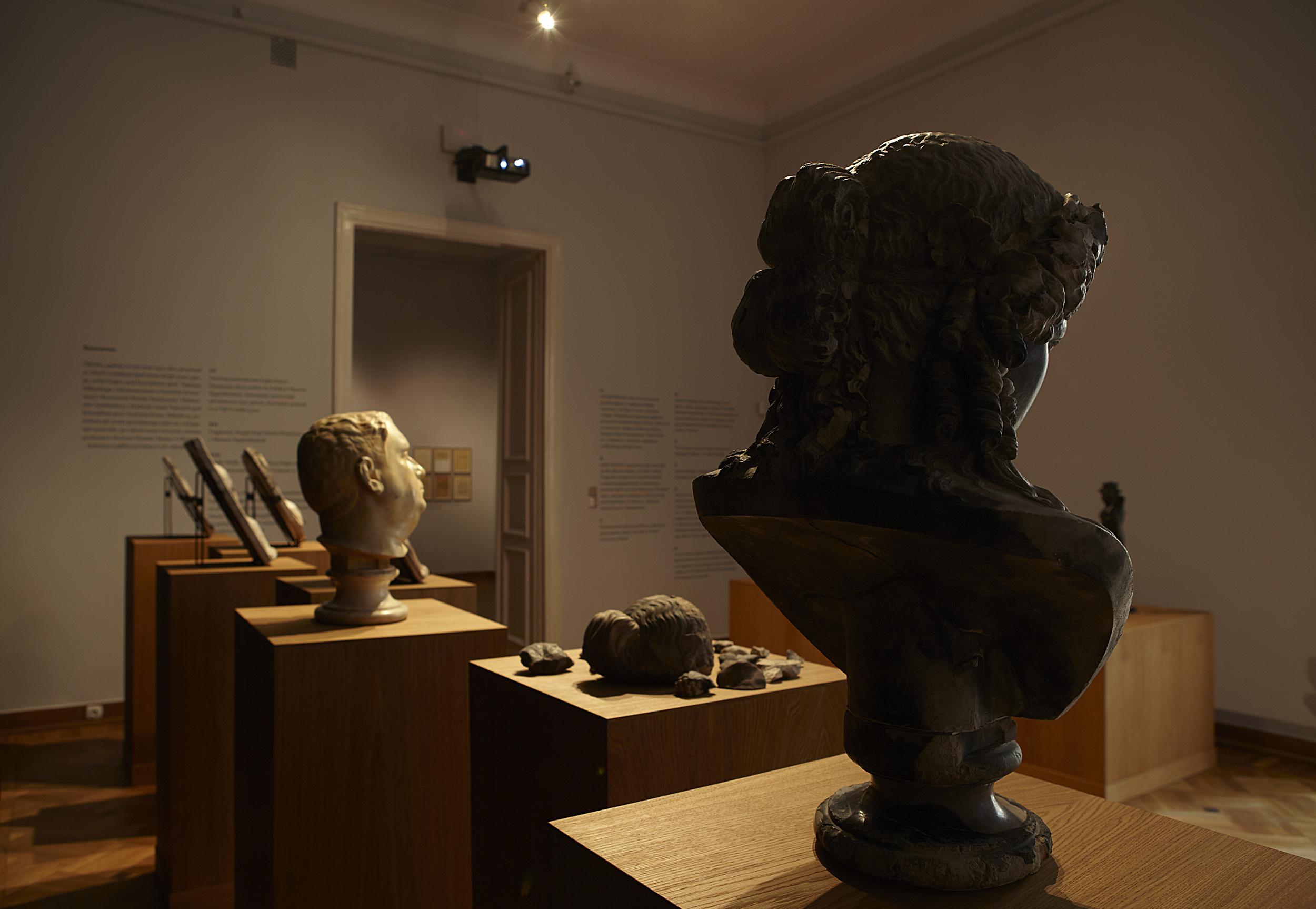 Rzeźby zkolekcji rodziny von Rose