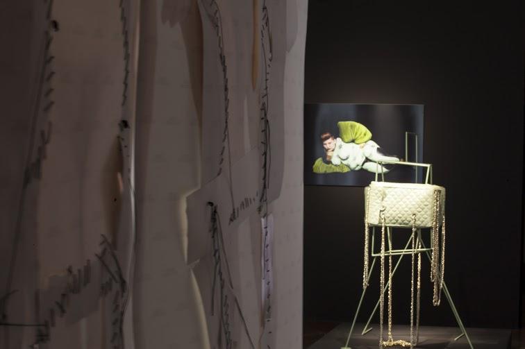 widoki wystawy Gender jako dokamerowy performance, Galeria Fotografi pf