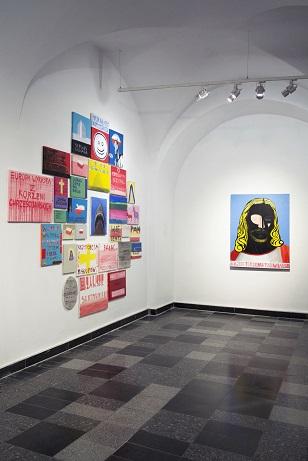 Życie artysty wdrugiej połowie XX wieku, widok wystawy