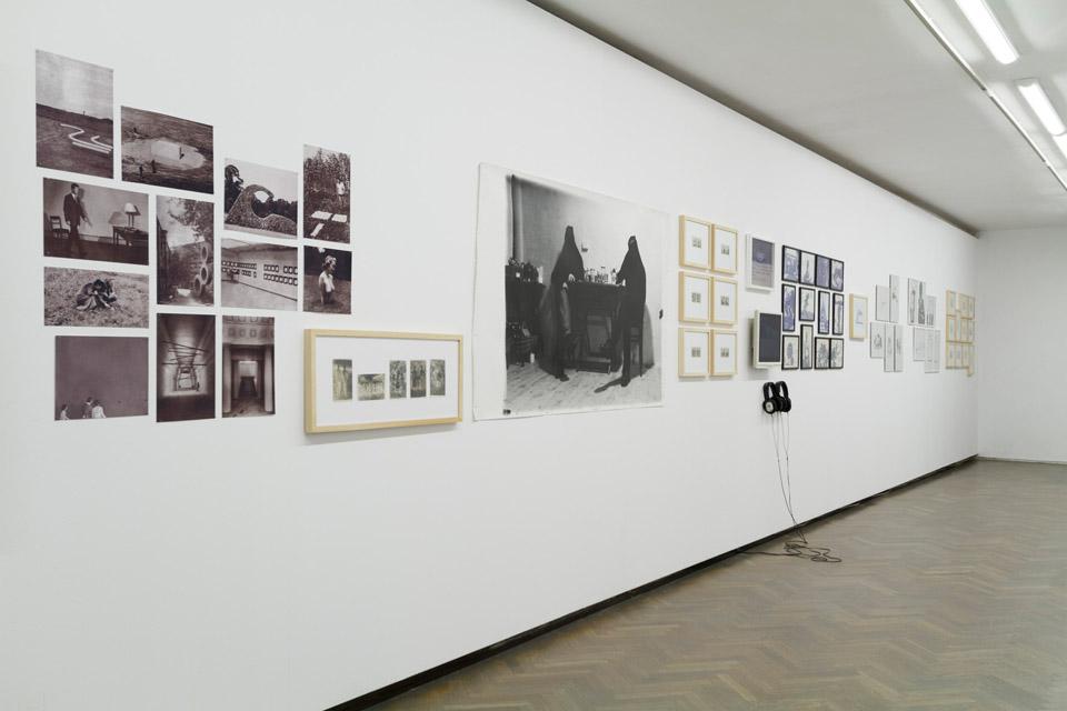 Zbiory wspólne, widok wystawy