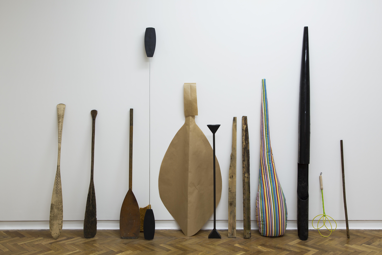 Joanna Malinowska, Ewolucja wiosła; Evolution of paddle, 2015