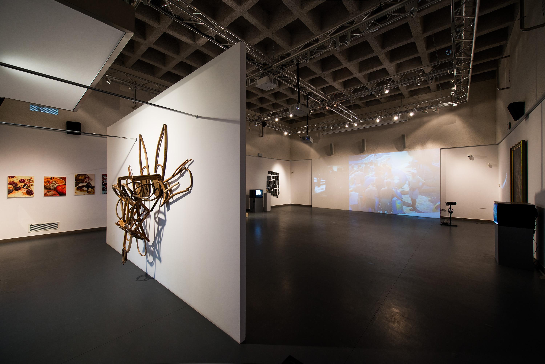 Ars moriendi, widok wystawy