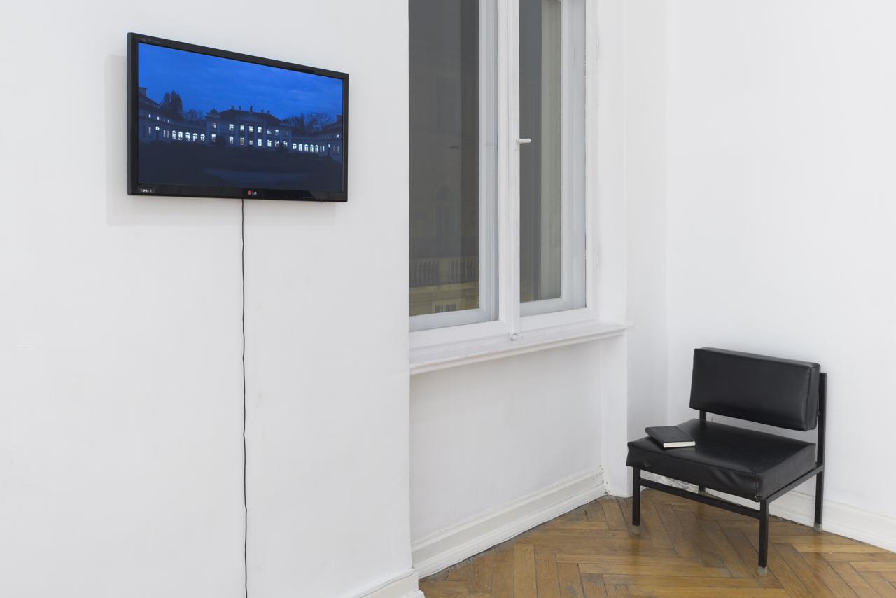 Natalia Wiśniewska, Niechżyje Muzeum, 2015, wideo, 3'10''